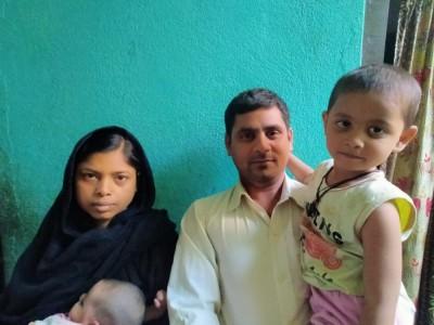 Help Firoj Ansari in Supporting his Family